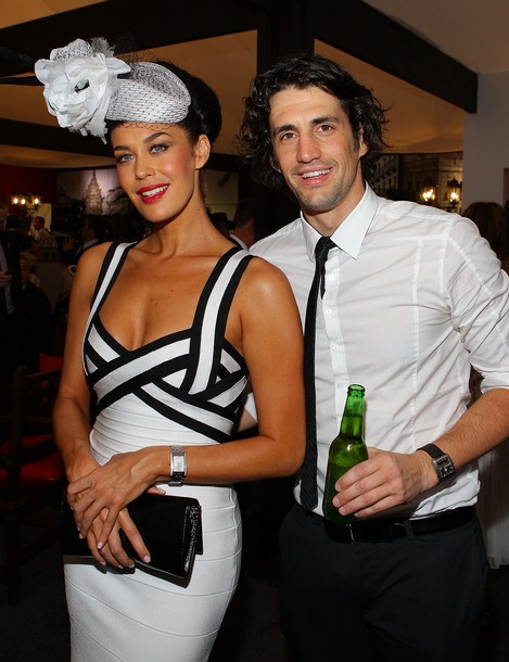 Celebrities Attend AAMI Victoria Derby Day